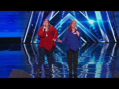 America's Got Talent 2015 S10E03 The Orchids Horrendous Karaoke Singers
