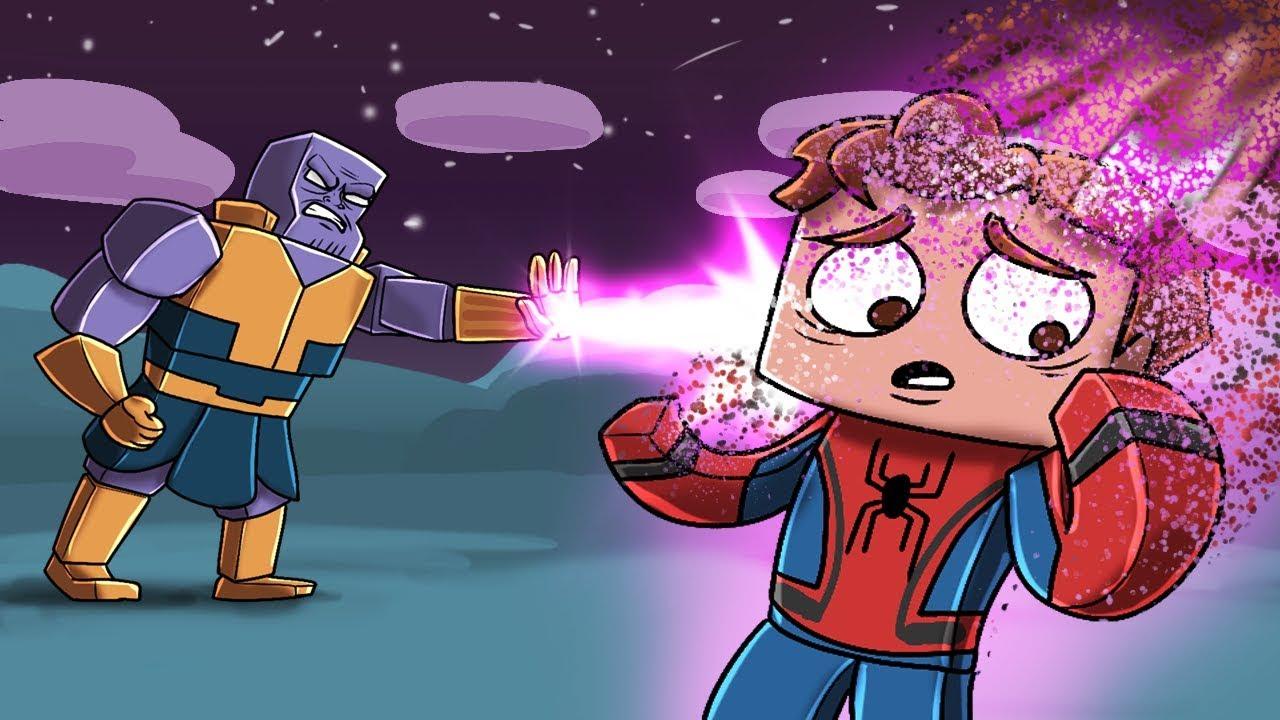 Infinity War Movie - THANOS KILLS SPIDERMAN!? (Minecraft ...