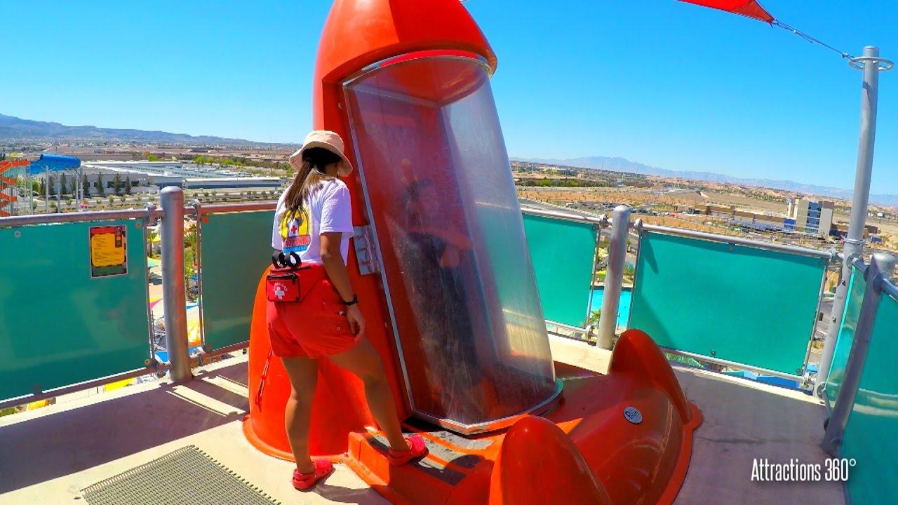 Trap Door Water Slide Pov Zuma Zooma Cowabunga Bay