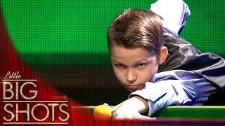 Amazing Snooker Trick Shot Artist | Little Big Shots