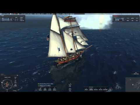 Naval Action Alpha:  Privateer vs elite pvper Navy Brig