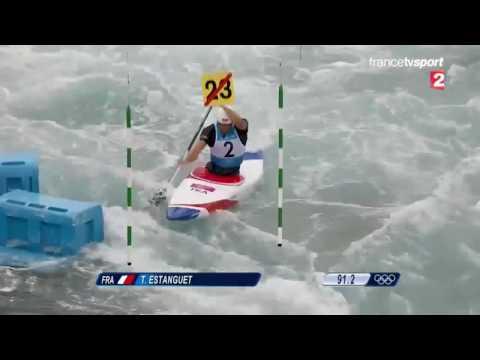 Tony Estanguet - Champion olympique - Londres 2012