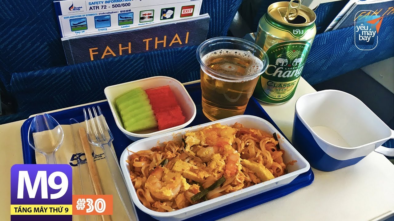 [M9] #30: Bay thẳng Bangkok Airways từ Chiang Mai về Hà Nội | Yêu Máy Bay