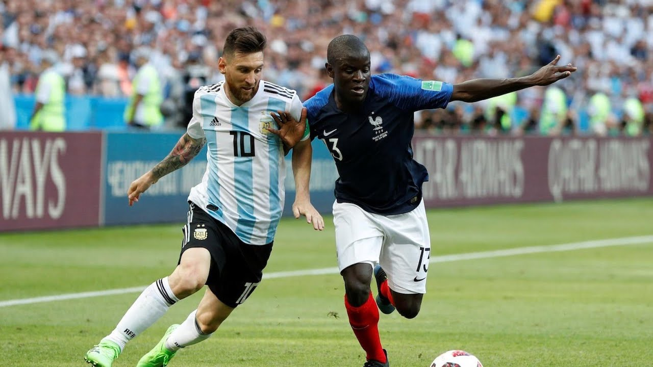 Download Lionel Messi Vs N'Golo Kante.