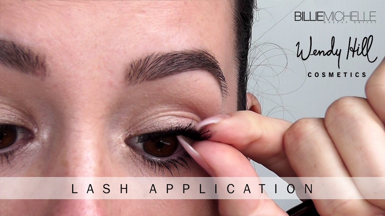 0fca4b05a01 STOP you've been wearing false eyelashes the wrong way! - Billie Michelle  Makeup Artist