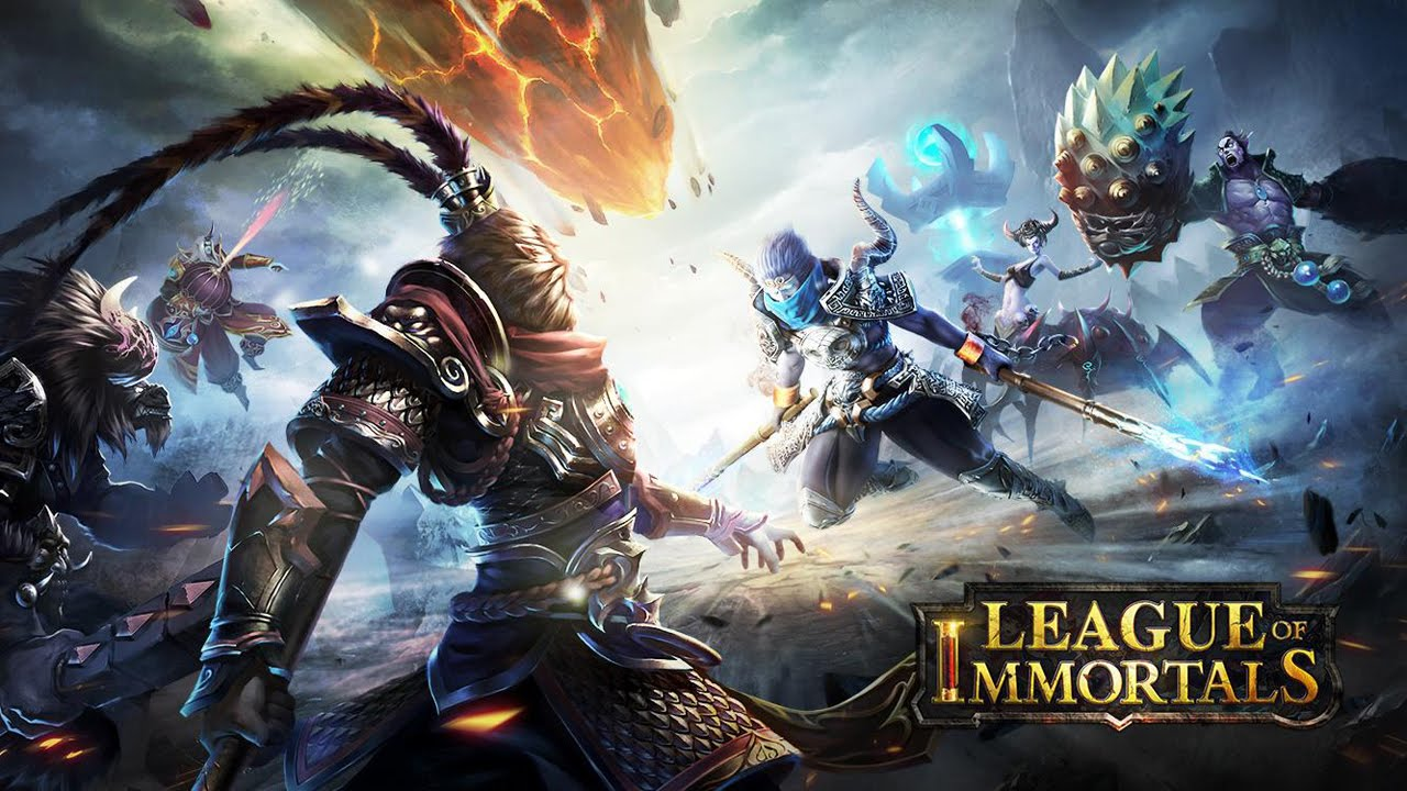 League Of Immortals Moba Gameplay Ios Android Youtube