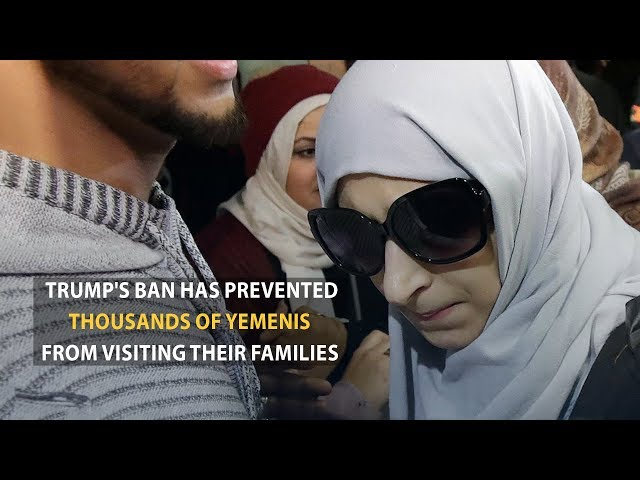 Finally, the U.S. authorities granted Shaima an exceptional visa to visit her son