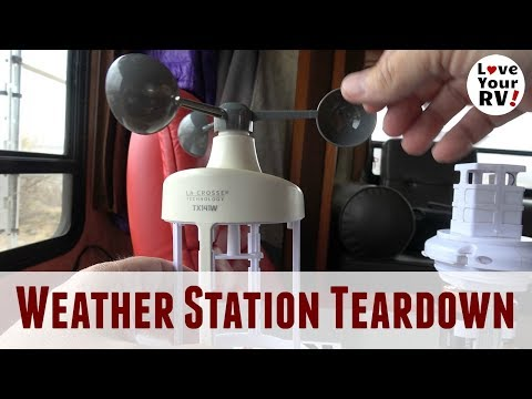 Weather Station Teardown  (Cleaning Out Desert Grit)