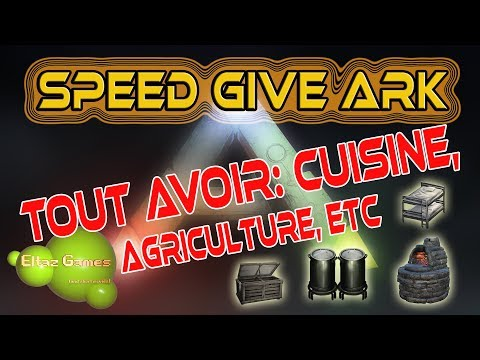 Speed Give Ark Gfi Cuisine Agriculture Divers