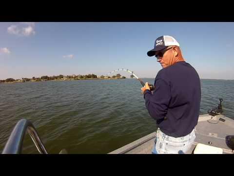 Lake Richland Chambers Awesome Catfishing!