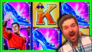 BIG WIN on Cinderella Slot Machine MAX BET BONUSES! 💰SDGuy1234