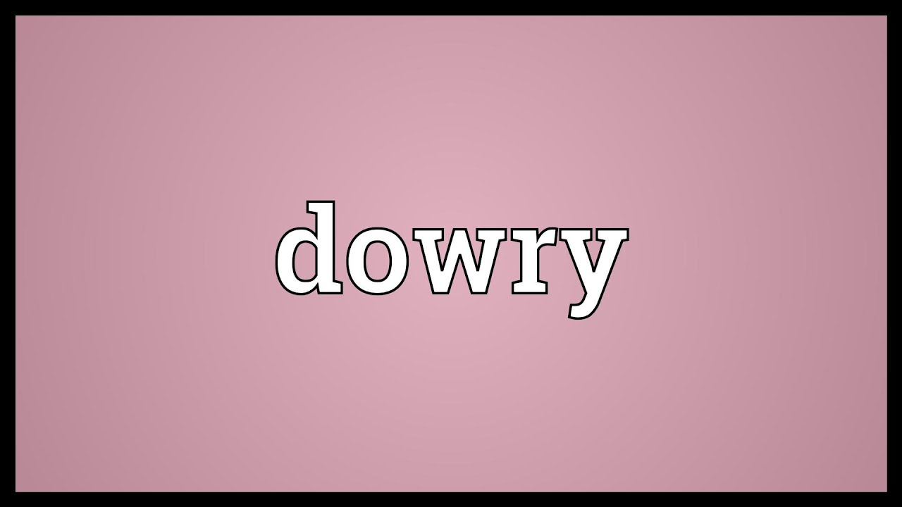 Essays on dowry system in english