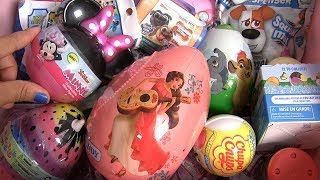 TOYS SURPRISE Kinder egg Disney Princess Elena of Avalor Minnie Mouse Unicorn egg toy
