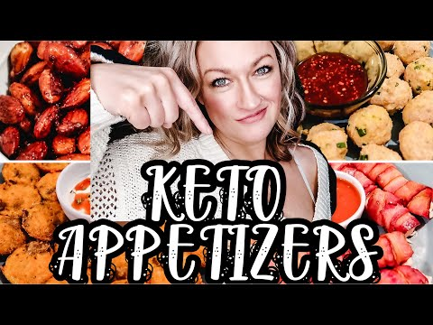 QUICK & EASY KETO APPETIZERS | EASY KETO PARTY FOOD | KETO SNACK RECIPES | Suz and The Crew