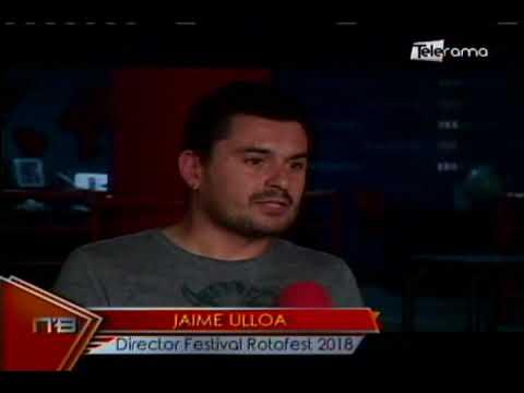 Rotofest 2018 Cuenca Music/Art/Design & Technology