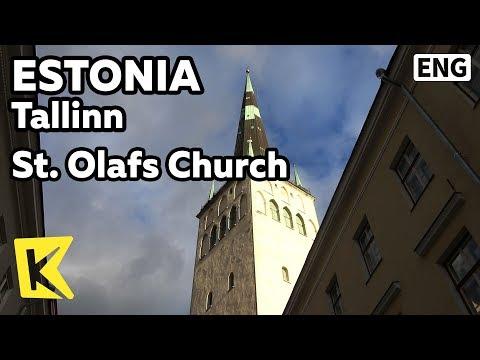 【K】Estonia Travel-Tallinn[에스토니아 여행-탈린]성 올라프 교회/Oleviste/St. Olaf's Church/Tower/Castle gate/Steeple