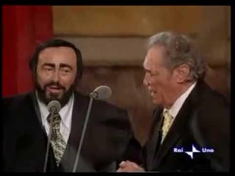 Luciano e Fernando Pavarotti - Panis Angelicus mp3