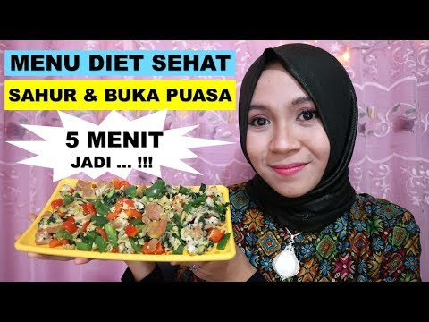 menu diet kevin zahri