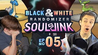 SOUL LINK CANCELLED!? | Pokemon Black and White Soul Link Randomized Nuzlocke EP 5