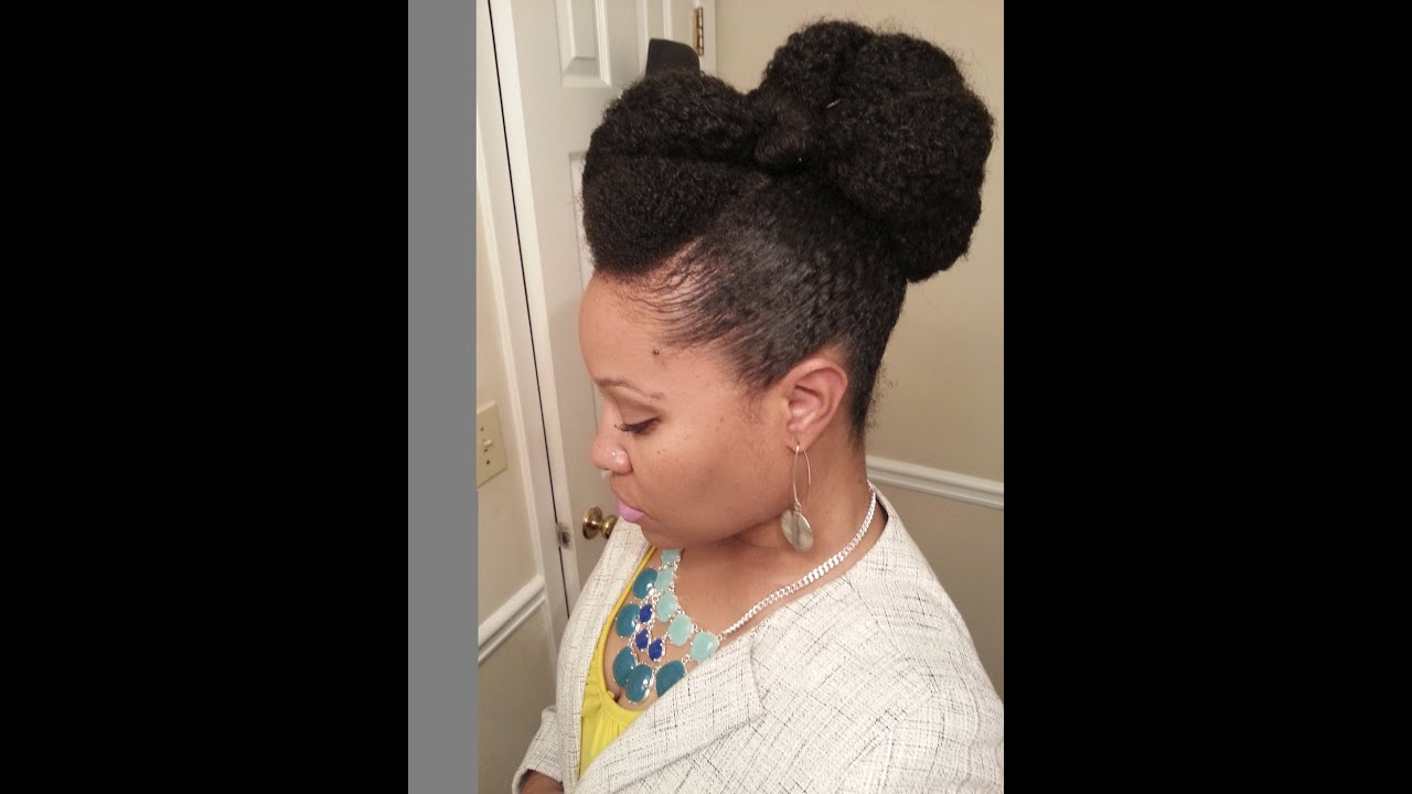 Pompadour Amp Bun YouTube