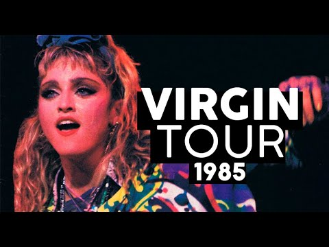 Noiva materialista e ambiciosa   VIRGIN TOUR 1985 Review Shows da Madonna