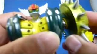 鋼鉄ジーグ(新型)で遊んでみました!磁石の保持力もバッチリです!! 大量のオプションパーツで換装遊びをしまくってください! さらにバル...