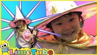 라임이가 마술학교에 가다! ❤︎ 수리수리 마수리 울라울라 숑! ❤︎ 마술 장난감 놀이 LimeTube & Toys Play 라임튜브
