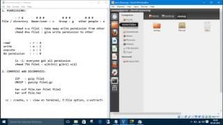 Linux Commands 6. File Compression-Decompression : zip, unzip, tar