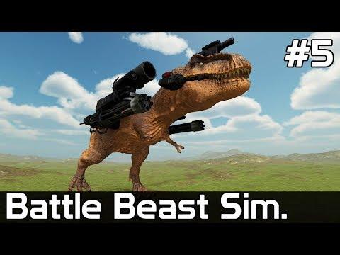 Battle Beast Simulator Gameplay PL [#5] NIEBEZPIECZNY T-Rex!