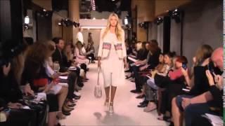 Gigi Hadid, Kendall Jenner & Hailey Baldwin walking for Sonia Rykiel SS15 during Paris Fashion Week