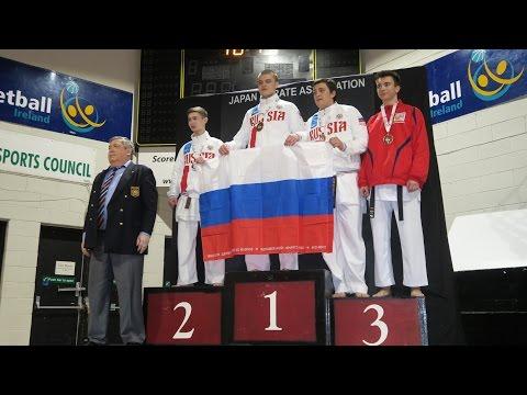 2016 JKA European Championship - Junior Men Individual Kumite
