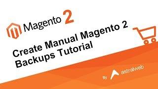 Створити Посібник З Magento 2 Резервних Уроку