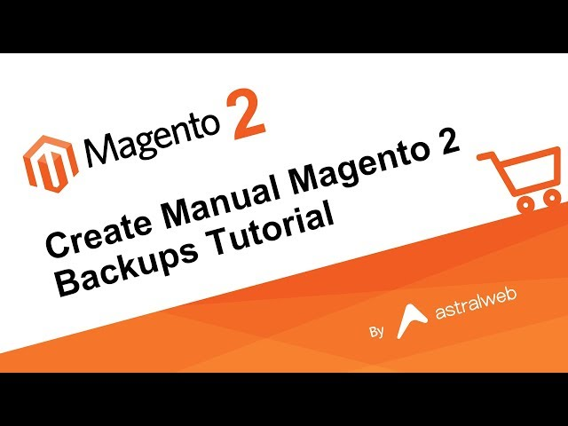 Create Manual Magento 2 Backups Tutorial