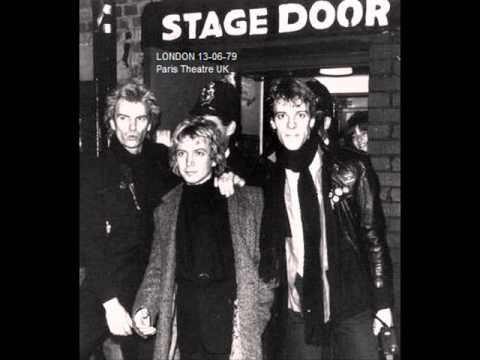 "THE POLICE - London 13-06-1979 ""Paris Theatre"" UK"