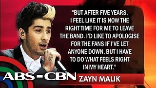 Bakit umalis sa One Direction si Zayn Malik?
