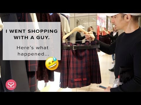 I WENT SHOPPING WITH A GUY & Here's What Happened... | Sophie Shohet