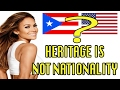 HERITAGE IS NOT NATIONALITY! Stop The Nonsense!