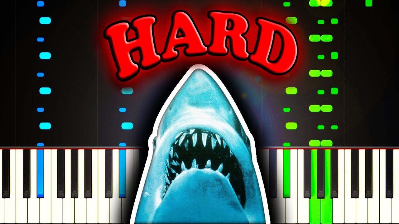 29897e5d JAWS THEME - Piano Tutorial. Sheet Music Boss