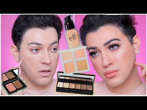 DRUGSTORE ONE BRAND TUTORIAL - ELF COSMETICS! Manny MUA
