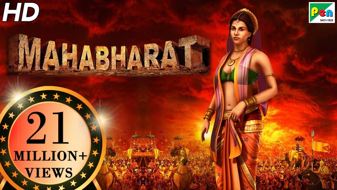 Mahabharat | Full Animated Film- Hindi | Exclusive | HD 1080p | With English Subtitles