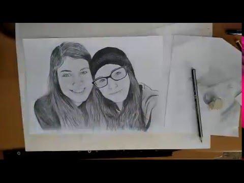 Dibujo a lapiz camara rapida  YouTube