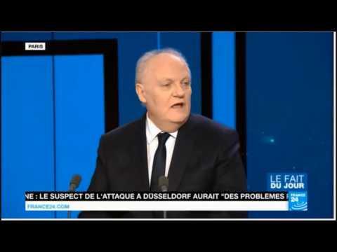 ASSELINEAU #2017 - Invité du JT du soir de France 24 - 10 mars 2017