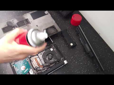 How to clean your noisy laptop - Dell XPS