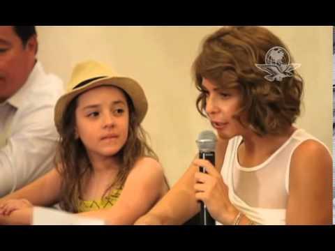 Itati Cantoral arranca filmación de la película