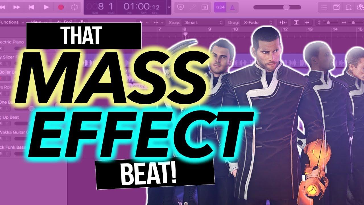 🎵MASS EFFECT EDM club mix 🎵|Audio Visual Music Video