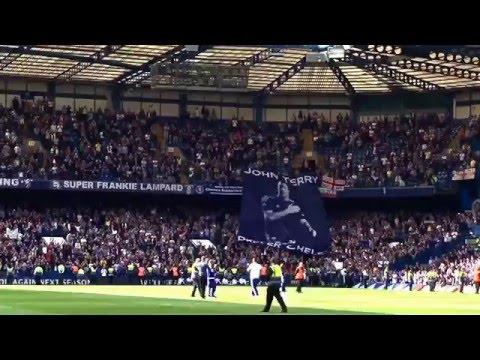 Huge John Terry Banner at Stamford Bridge 15/5/2016