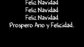 Repeat youtube video [Lyrics] - Feliz Navidad