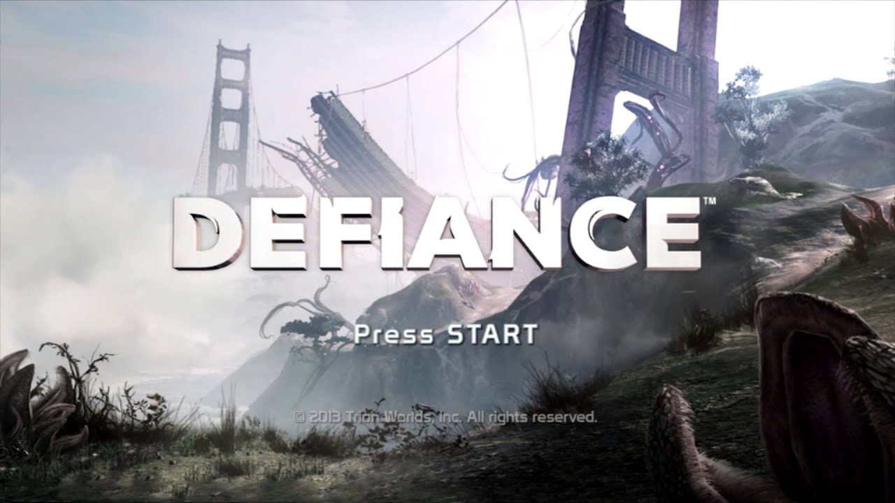 Defiance Title Theme Animatic (2013, Trion Worlds) - YouTube  Defiance Title ...