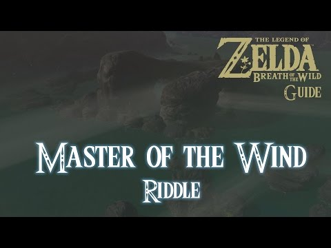 The Legend of Zelda: Breath of The Wild - Master of the Wind Riddle [Guide] [Switch]