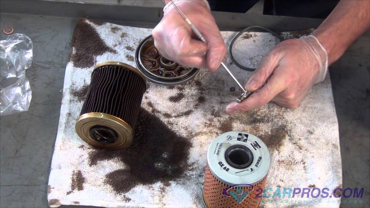 hight resolution of fuel filter location